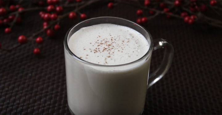 Homemade Eggnog Recipe for a Classic Christmas Eggnog.