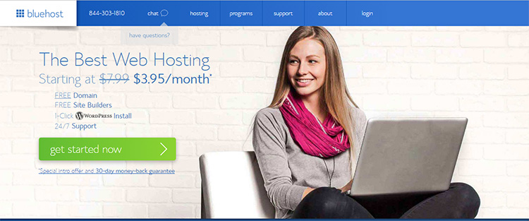 How to Start a Blog With WordPress and Host It With Bluehost.