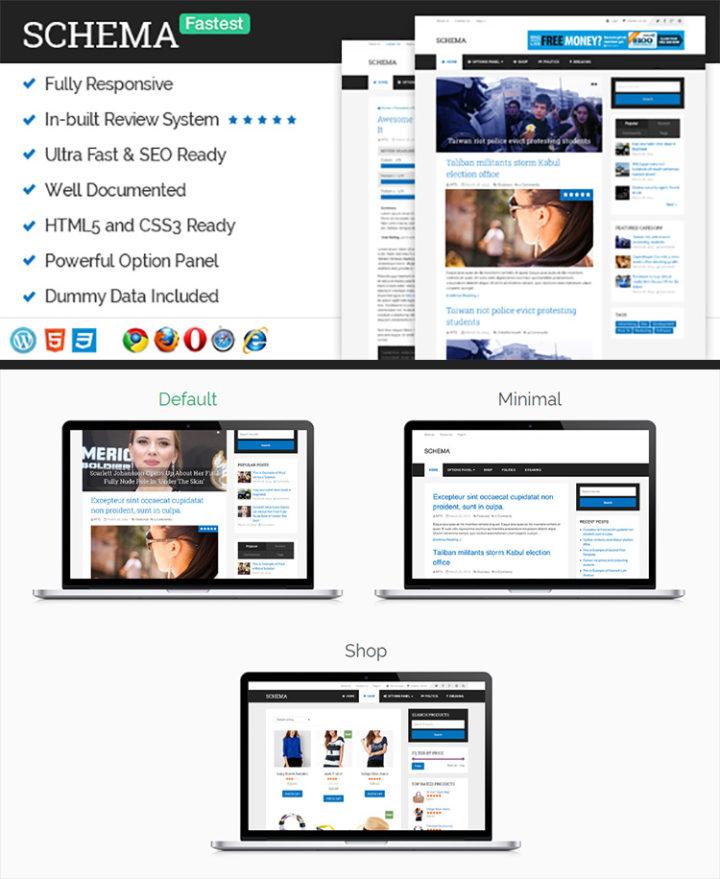 Installing a WordPress Theme - Schema by MyThemeShop