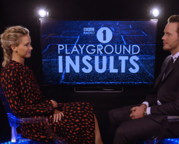 Jennifer Lawrence and Chris Pratt Hilariously Insult Each Other.