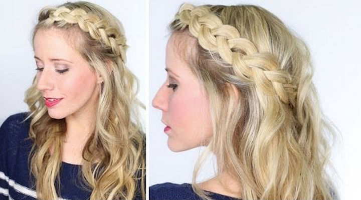 14 Lazy Girl Hair Hacks - Get more volume out of your braids by gently tugging on each strand.