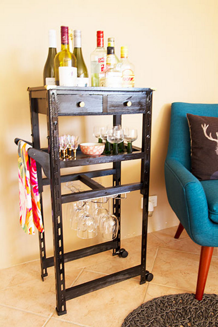 bar cart ideas 18 diy bars and bar carts for the home or patio 30336