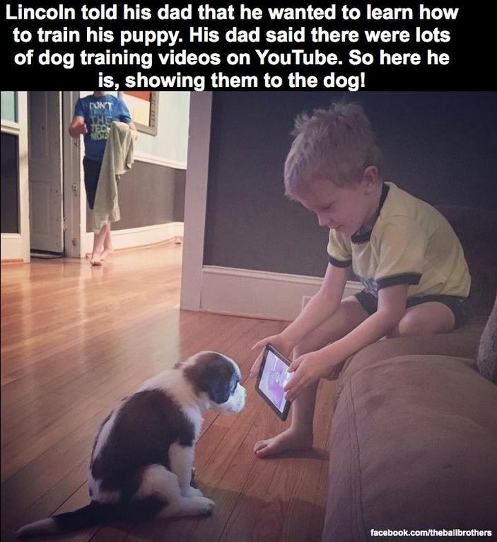 18 Kids Taking Instructions Too Literally - Online learning at its best.