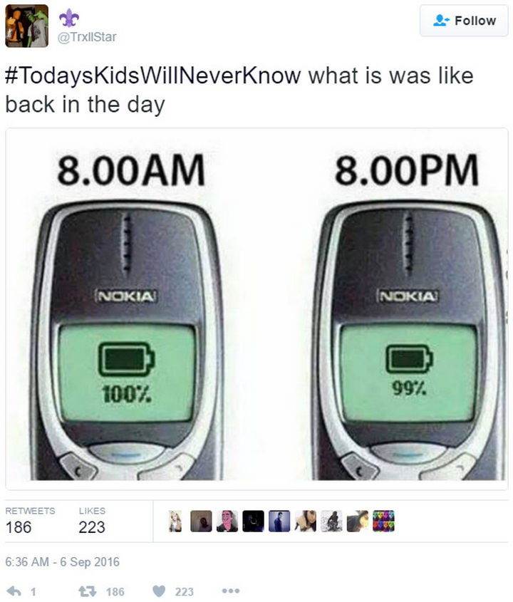 19 Things Kids Born After the Year 2000 Will Never Understand - Today, batteries barely last a day and you're lucky if they don't blow up in your face.