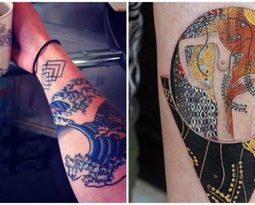 22 Classical Art Tattoos Any Art Lover Would Love and Appreciate.