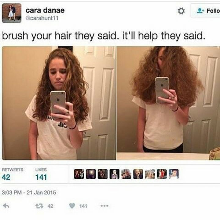 26 Funny Photos - Will she take advice from people ever again? Nope.