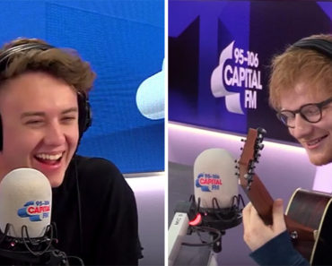 A Fan Requested Ed Sheeran Perform THIS 90's Sitcom Theme on Live Radio. Nailed It!