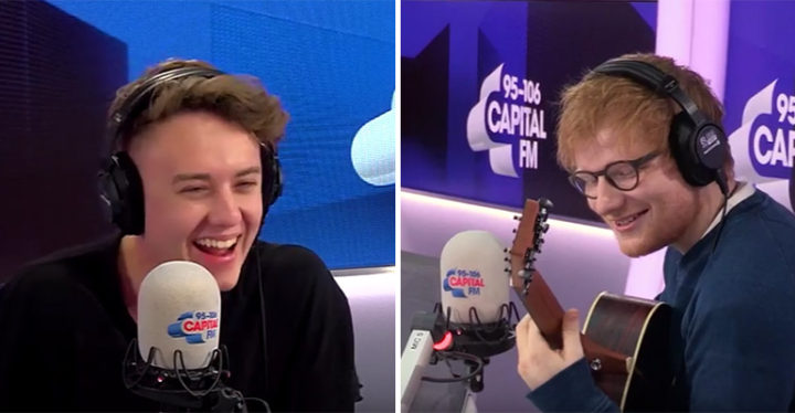 Ed Sheeran Covers 'The Fresh Prince of Bel-Air' Theme Song.