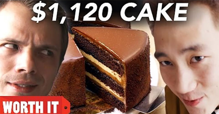 Steven & Andrew of Worth It Sample Cakes ranging from $27 to $1,120!