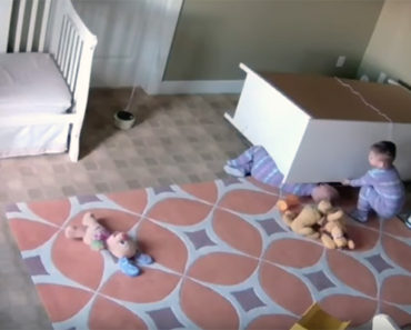 Toddler Saves His Twin Brother Trapped Under a Fallen Dresser.