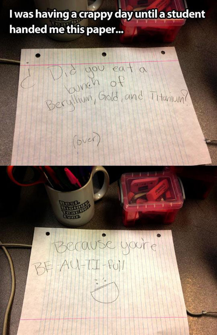 10 Random Acts of Kindness - I also love this teacher's coffee mug: Best Biology Teacher Ever.