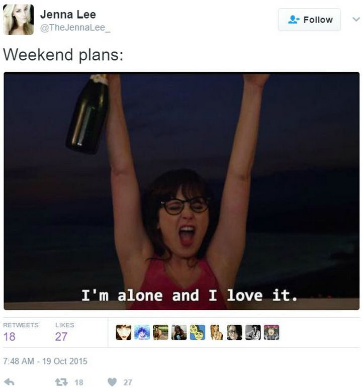 17 Introvert Images - Sounds like a great weekend to me!
