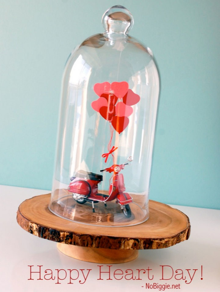 27 DIY Valentine's Day Crafts - Build a Valentine's Day vignette.