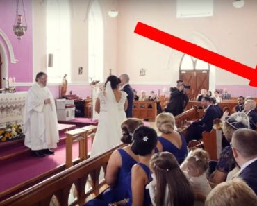 A Man Interrupts a Wedding Ceremony. When the Bride Turns Around, She Bursts Into Tears…