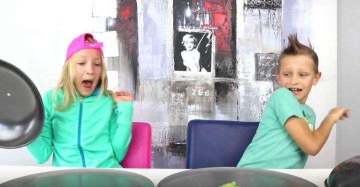 Gummy vs Real Food Challenge With Ronald and Karina of SIS vs BRO.