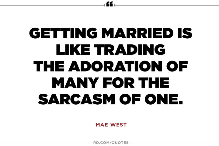 10 funny marriage quotes about what its like to tie the knot