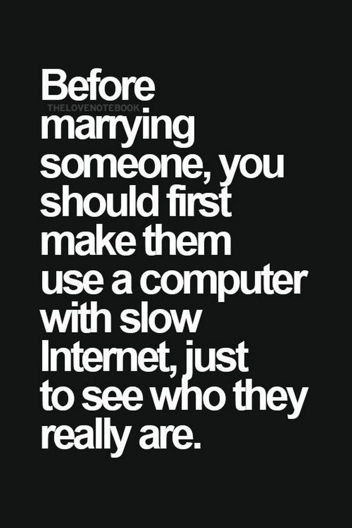 10 Funny Marriage Quotes - Some VERY good advice.