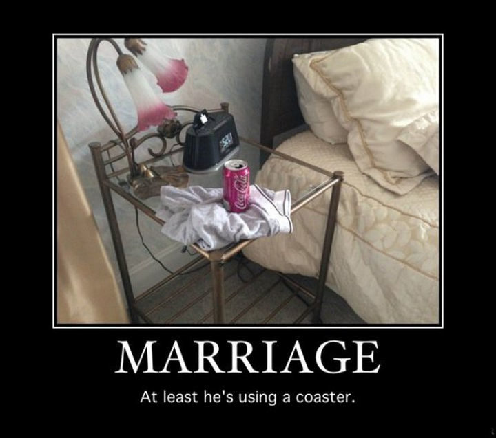 10 Funny Marriage Quotes - Being considerate.