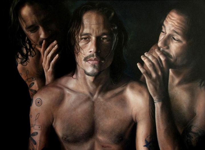 Vincent Fantauzzo - Oil on Canvas.