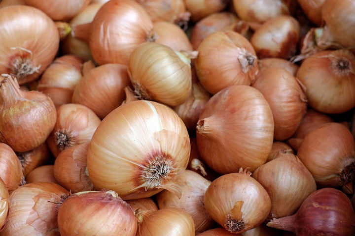 If you have a stuffy nose, did you know you can get relief by slicing an onion in half and placing both halves on your nightstand while you sleep?