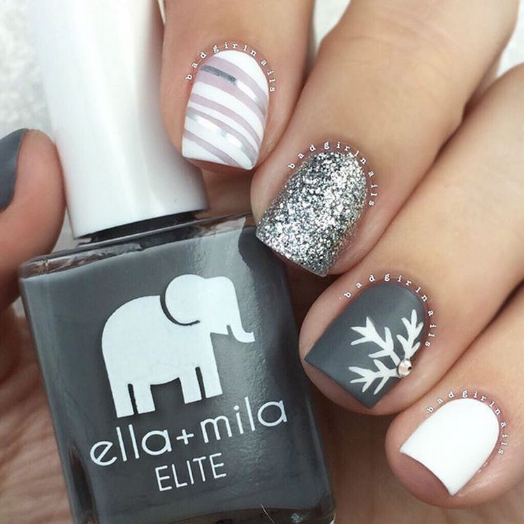 17 Winter Nails - Trendy nails that are simply mesmerizing.