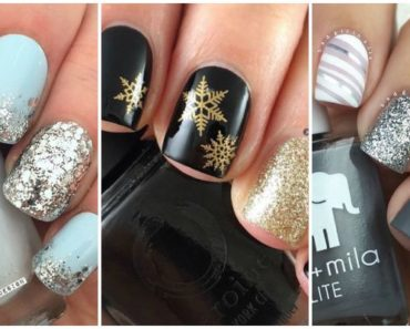 17 Winter Nail Art Designs and Ideas to Brighten Up the Season