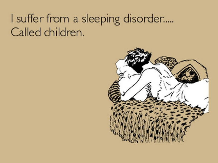 """25 Sleep Deprived Mom Confessions - """"I'd been up two days after coming home from the hospital and realized that I hadn't eaten, so I made frozen waffles — and poured dish soap on them instead of syrup."""""""