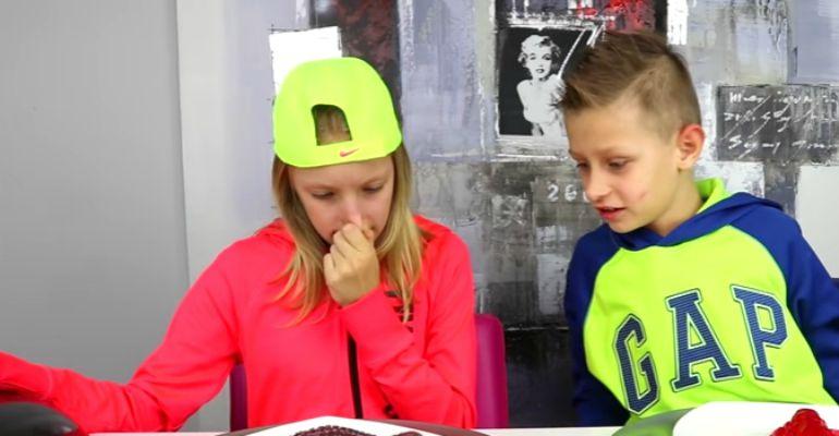 Gummy vs Real Food Challenge Round #2 With Ronald and Karina of SIS vs BRO.