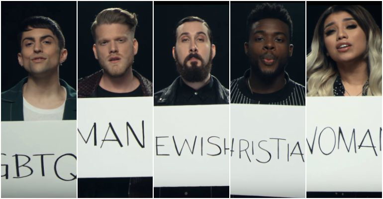 Pentatonix Perform Cover of John Lennon's 'Imagine'.
