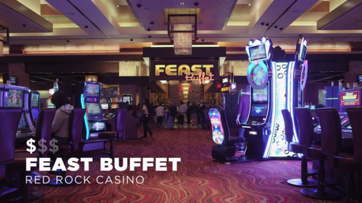 The first Las Vegas buffet on the Worth It list is the Feast Buffet in the Red Rock Casino. At an amazing price of $9 and only $7 for card members, it's a bargain. With over 150 items available for breakfast, it's pretty easy to find your favorites and more.