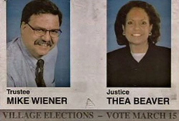 Funny Names - Mike Wiener and Thea Beaver.