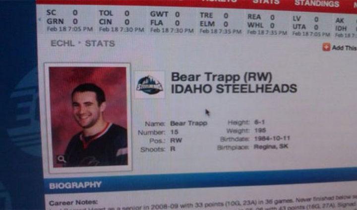 Bear Trapp.