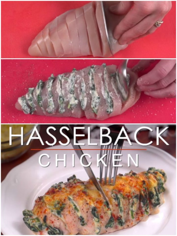 Stuffed Hasselback Chicken Recipe Is Tasty and So Easy to Make.