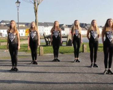 Irish Dancers Step Dance to Ed Sheeran's Hit Shape of You.