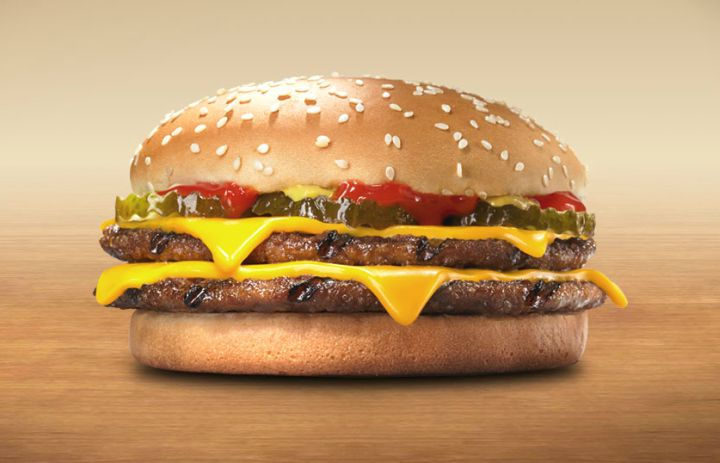 10 Fast Food Burgers With Less Fat and Calories Than a Caesar Salad - Burger King's Double Cheeseburger.
