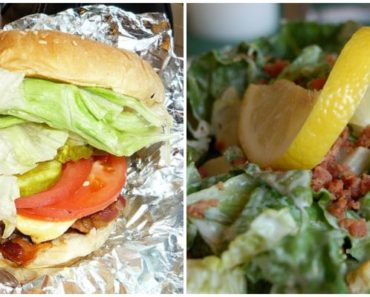 10 Fast Food Burgers With Less Fat and Calories Than a Traditional Caesar Salad!