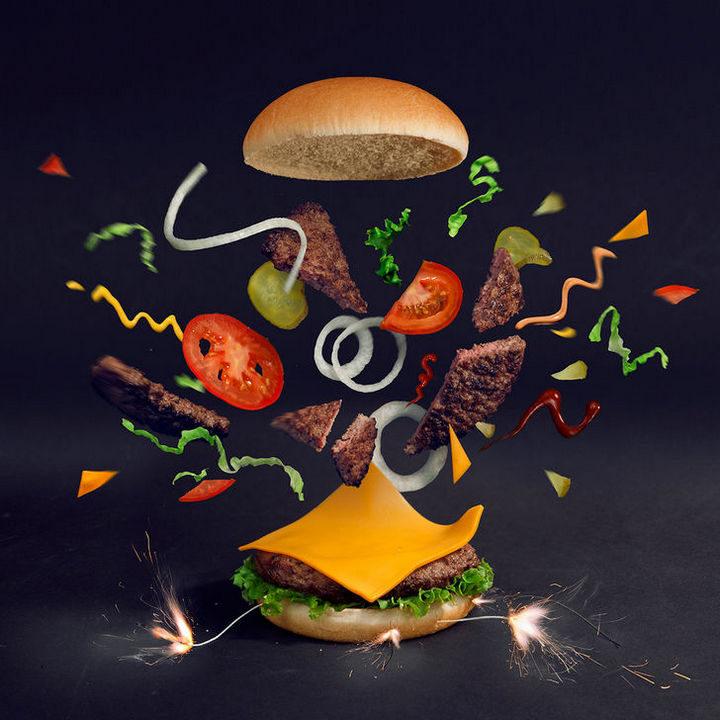 Fat andFurious Burgers - Boom Burger.