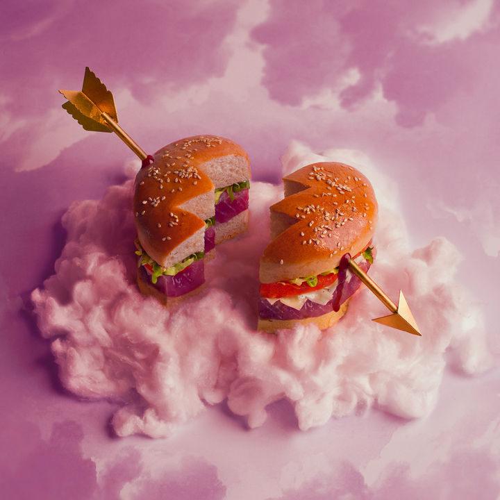 Fat andFurious Burgers - Heart Breaker Burger.