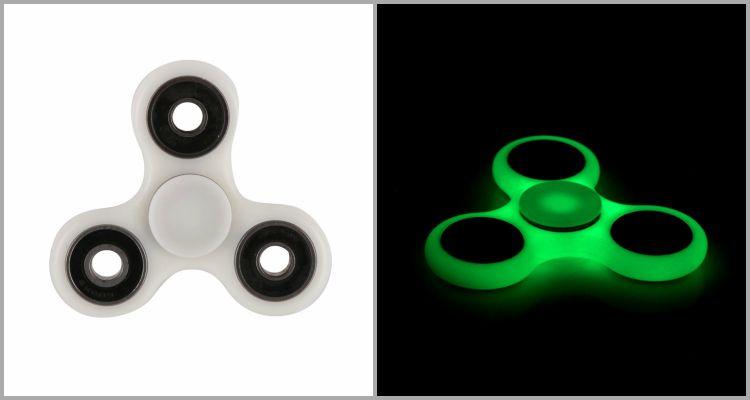 25 Best Fidget Spinners - Balai Glowing Fidget Spinner.