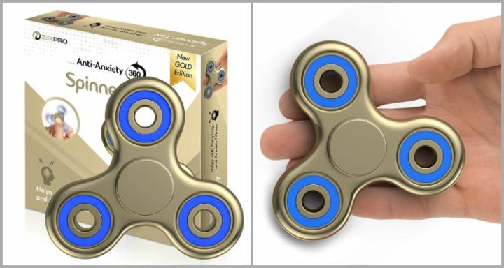 25 Best Fidget Spinners - Zekpro Anti-Anxiety 360 Spinner