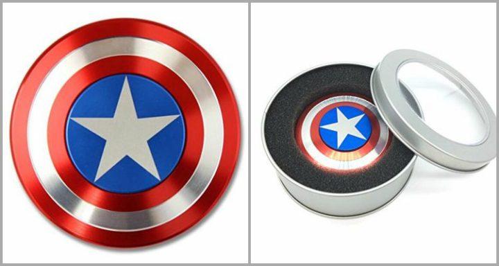 25 Best Fidget Spinners - Anti-Anxiety 360 Spinner Fidget Toy Shield.