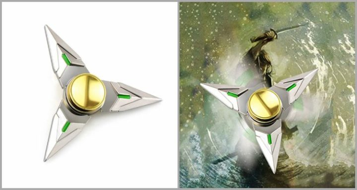 25 Best Fidget Spinners - OW Silver Genji Cosplay Hand Spinner .