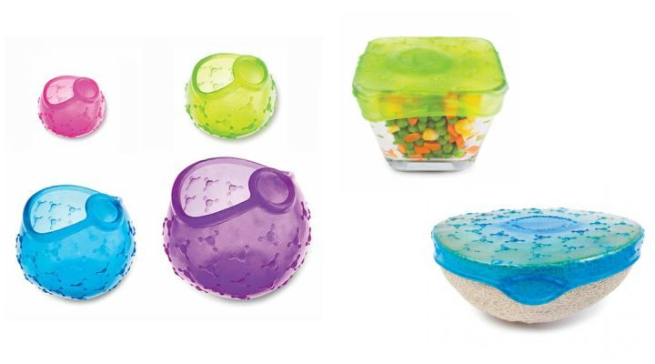 Kitchen Gadgets: Fusionbrands CoverBlubber Reusable Stretchable Cold Food Covers.