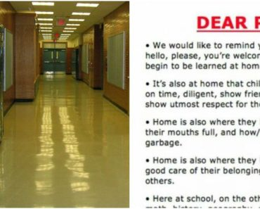 School Hangs Poster With a Controversial Message for Parents. It Immediately Goes Viral…