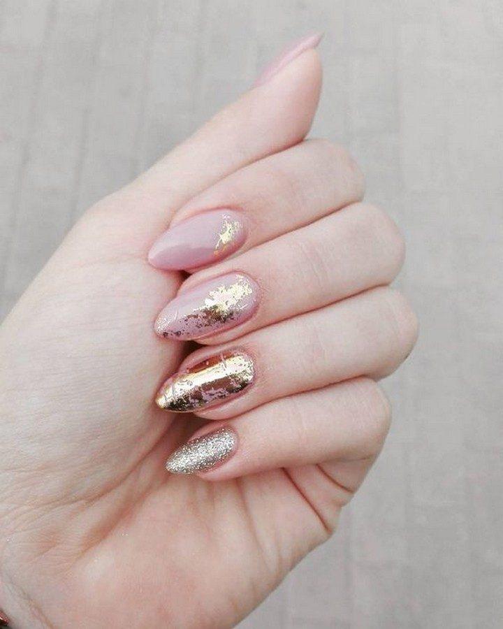 17 Chrome Nails - Using mirror foil for creative nail art designs.