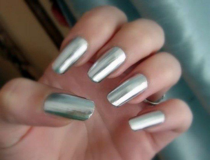 17 Chrome Nails - Chrome nails that shine like a diamond!