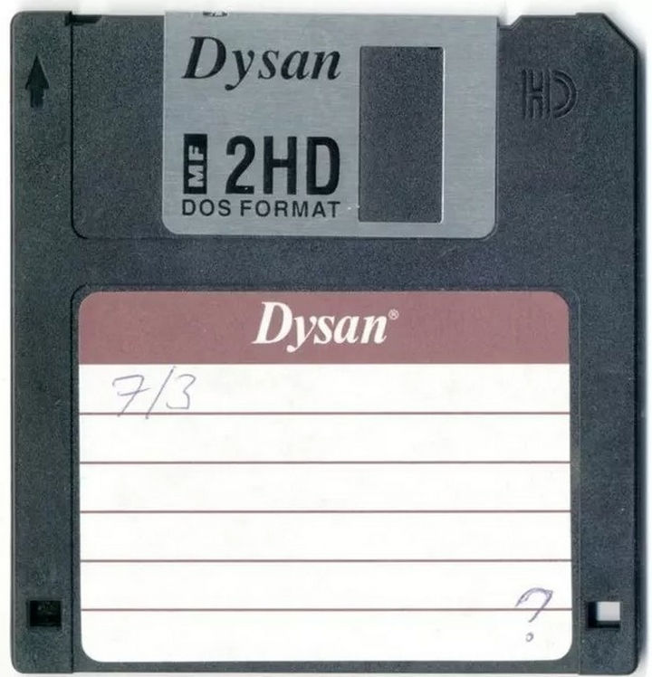 When you had to use floppy disks to save your homework in computer class.