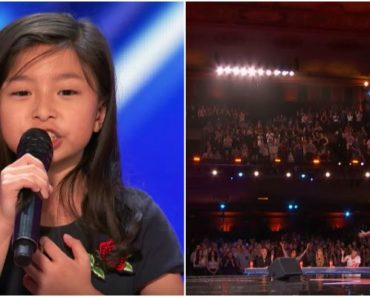 9-Year-Old Stuns Crowd with 'My Heart Will Go On' at America's Got Talent 2017