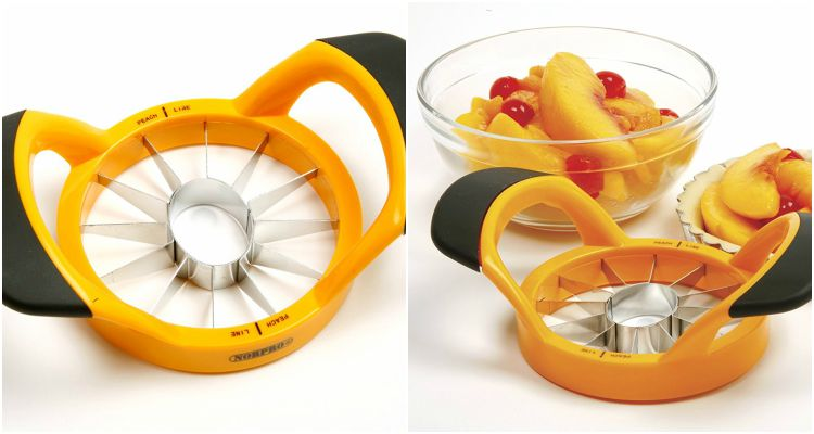 10 Cool Kitchen Gadgets - Norpro Grip EZ Peach Wedger and Pitter