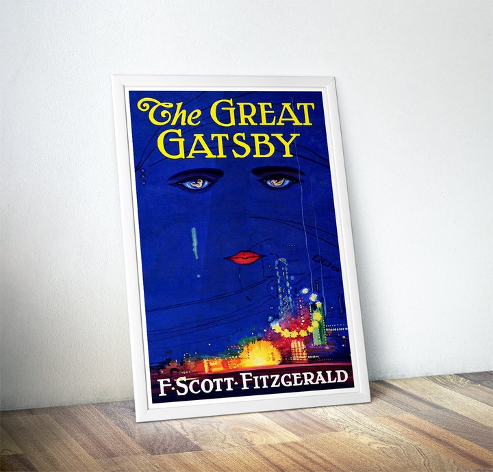 13 Handmade Gifts from Etsy - 'The Great Gatsby' Poster.